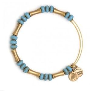 Eden Equinox Turquoise/Gold Bangle by Alex & Ani
